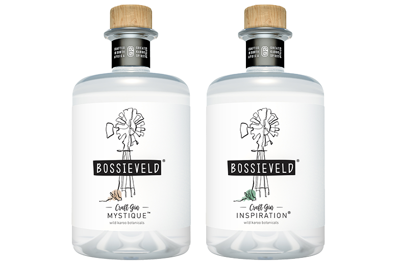 Bossieveld Inspiration and Mystique Gin